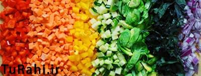 سبزیجات قبل بارداری