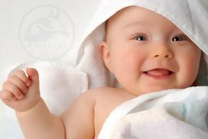 خشک کردن نوزاد